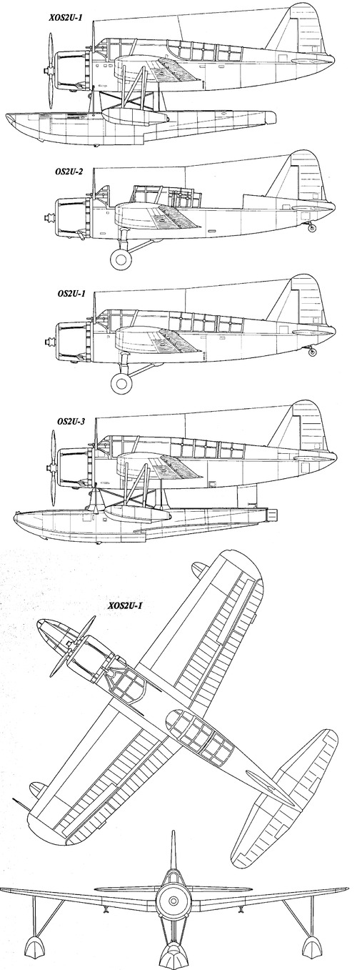 Vought OS2U A3 Kingfisher