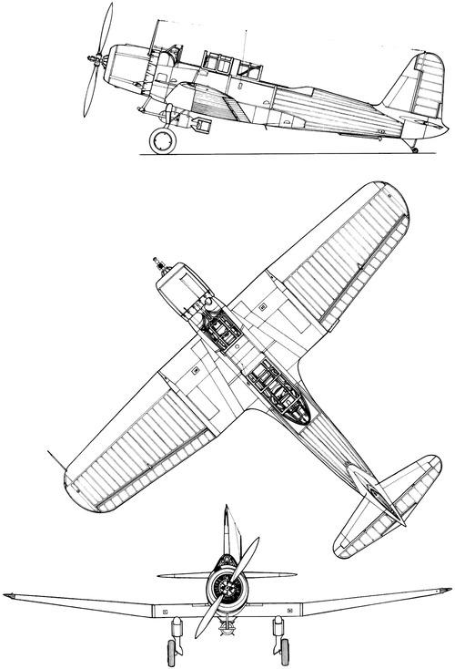 Vought SB2U-1 Vindicator