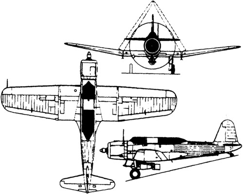 Vought SB2U Vindicator (1936)
