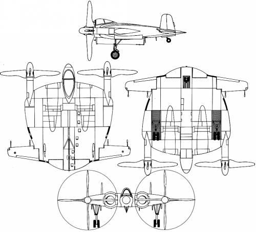 Vought XF-5U Flying Pancake