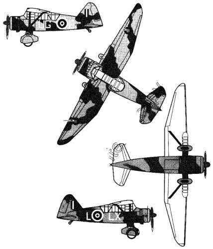 Westland Lysander Mk.II