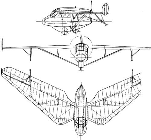 Westland Pterodactyl IV  (1931)