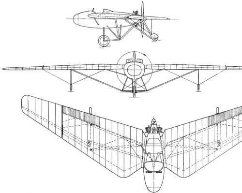 Westland Pterodactyl Mk IA, IB  (1925)