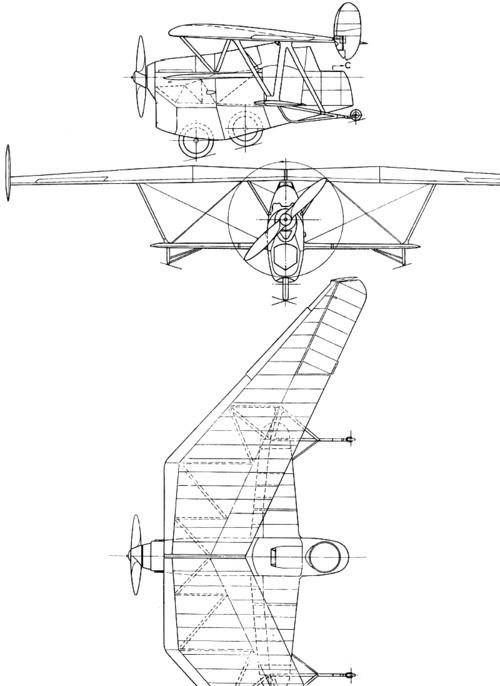 Westland Pterodactyl V (1932)