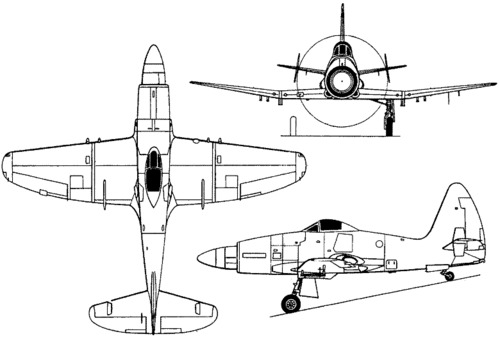 Westland Wyvern TF Mk 2 / S Mk.4  (1949)