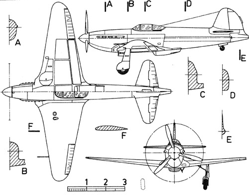 Yakoblev Yak-3 RD