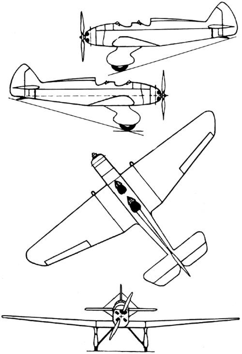 Yakovlev AIR-10 (1935)