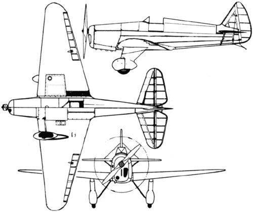 Yakovlev UT-1 (AIR-14) (1936)