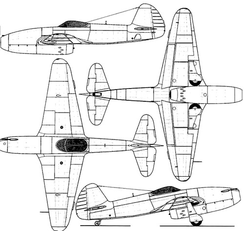 Yakovlev Yak-15 Feather