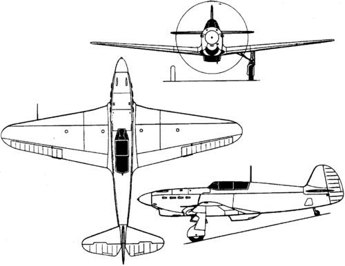 Yakovlev Yak-1 (1940)