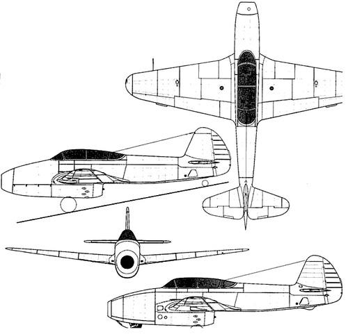 Yakovlev Yak-21 Feather