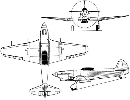 Yakovlev Yak-3 (I-30) (1941)