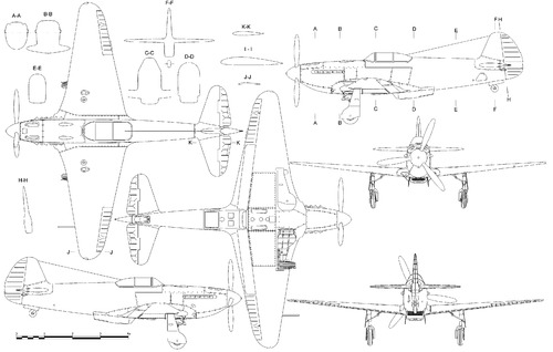 Yakovlev Yak-3 VK-105PF