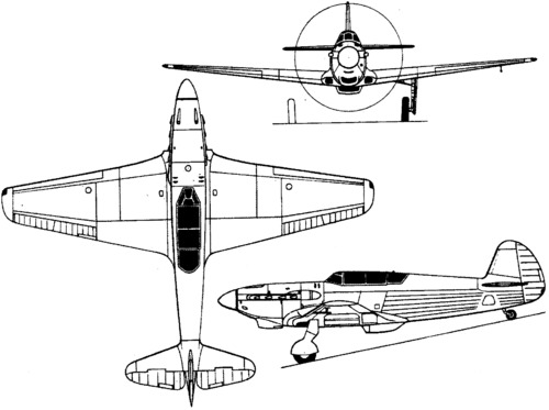 Yakovlev Yak-5 (I-28) (1941)
