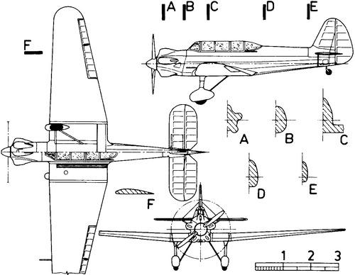Yakovlev Yak-5 UT-2L
