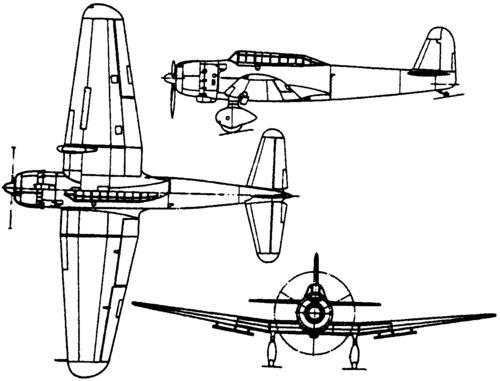 Yokosuka D3Y Myojo (1944)