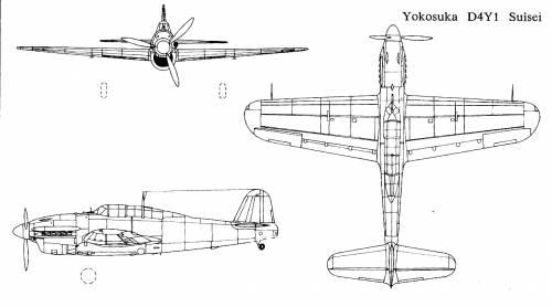 Yokosuka D4Y1 Suisei