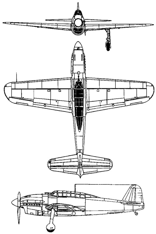 Yokosuka D4Y Suisei / Judy (1940)