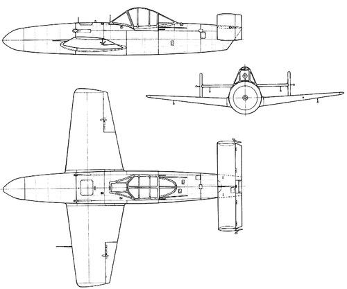 Yokosuka MXY-7 Ohka Model 11