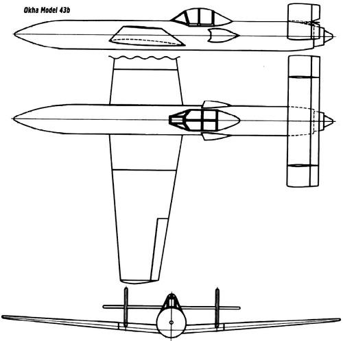 Yokosuka MXY-7 Ohka Model 43b