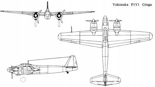 Yokosuka P1Y1 Ginga