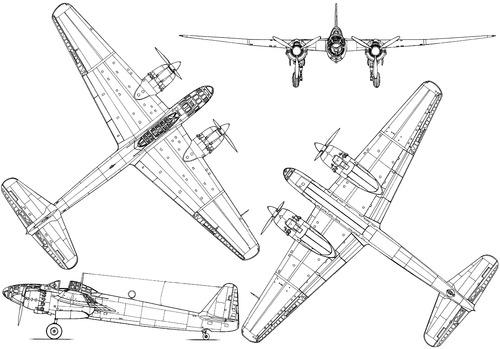 Yokosuka P1Y-1 Ginga (Frances) Kamikaze