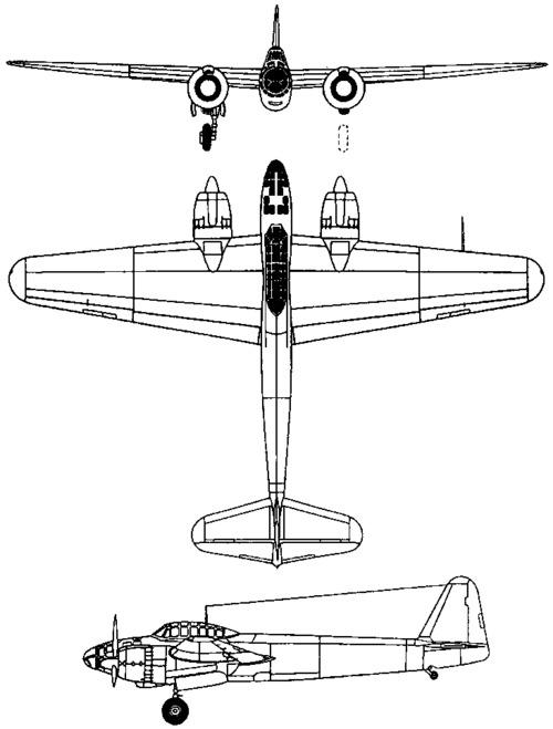 Yokosuka P1Y Ginga / Francis (1943)