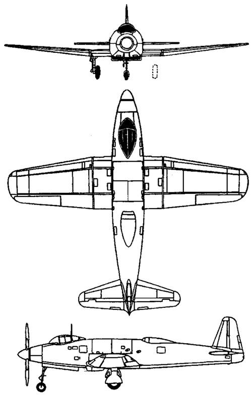 Yokosuka R2Y Keiun (1945)