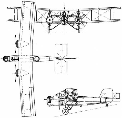 Boulton-Paul P.75 Overstrand (England) (1933)