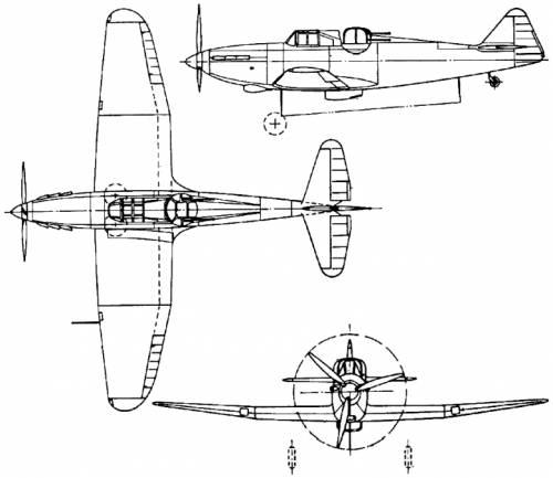 Boulton-Paul P.82 Defiant (England) (1937)