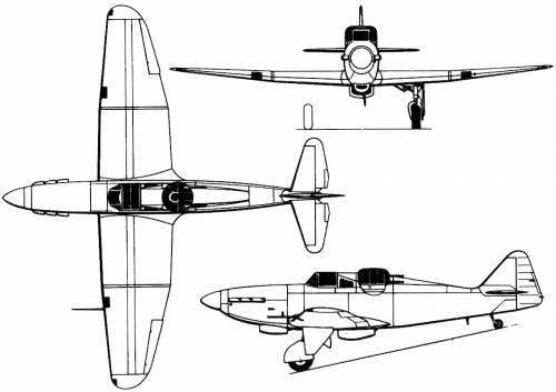 Boulton-Paul P.82 Defient I