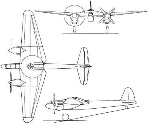 Boulton-Paul P.92/2 (England) (1941)