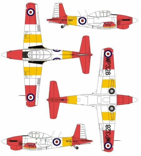 Boulton Paul Sea Balliol T.21