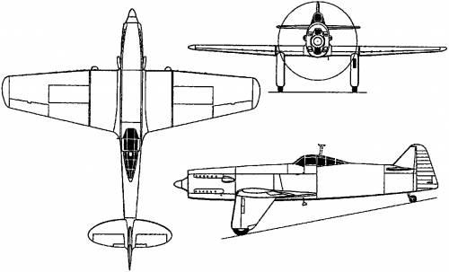 Martin-Baker M.B.2 (England) (1938)