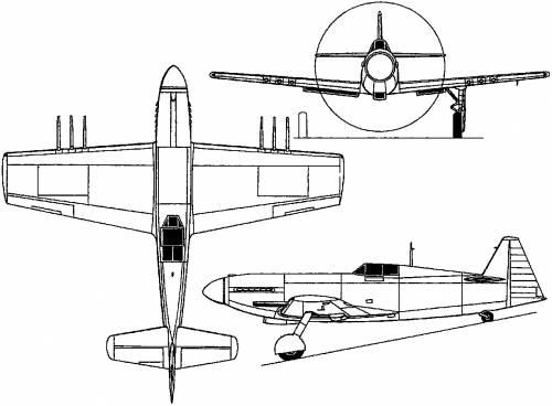 Martin-Baker M.B.3 (England) (1942)