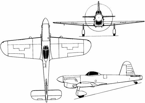 Miles M.20 (England) (1940)