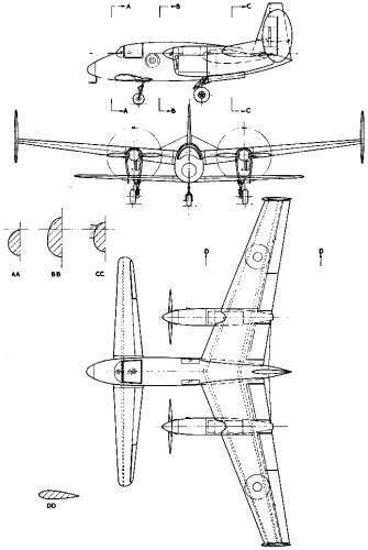 Miles M-39b Libellula 2