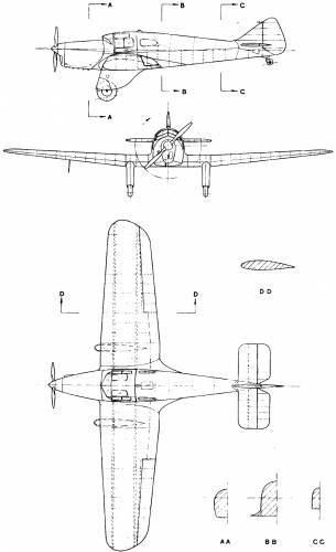 Miles M-3 Falcon