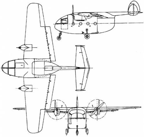 Miles M.57 Aerovan (England) (1945)