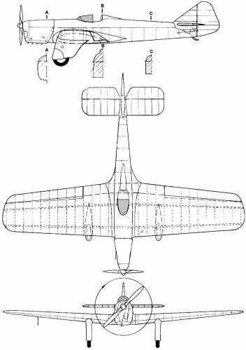 Miles M-5 Sparrowhawk