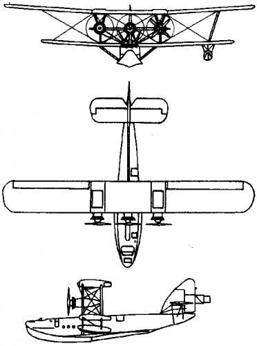 Short S.8 Calcutta (England) (1928)