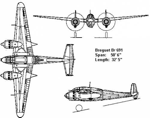 Breguet BR 691