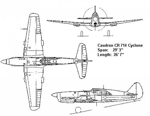 Caudron CR 714
