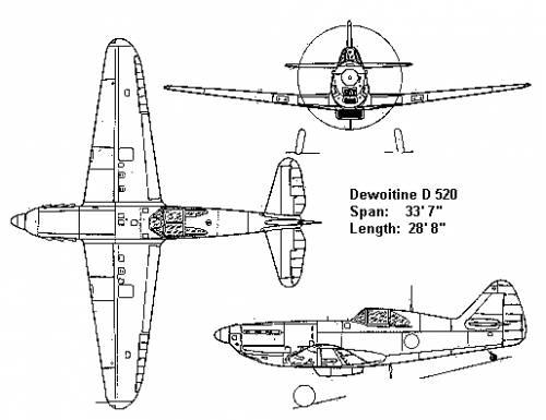 Dewoitine D520