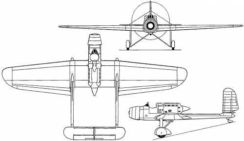 Hanriot H.110 (France) (1933)