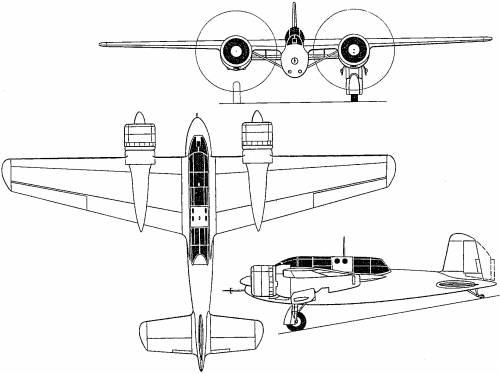 Hanriot H.220 (France) (1937)