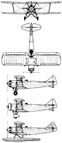 Breda Ba.25 (Italy) (1932)