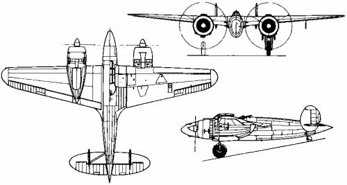 Breda Ba.88 Lince (Italy) (1936)