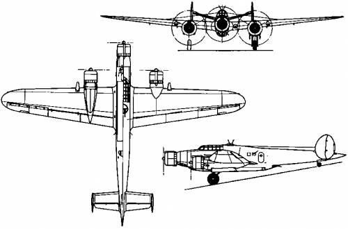 CRDA Cant Z.1007 Alcione (Italy) (1937)