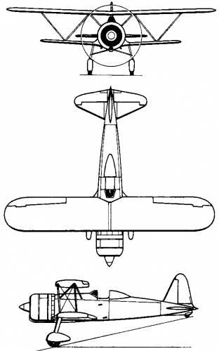 Fiat CR.42 Falco (Italy) (1938)